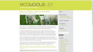 Ecolicious organic food blog