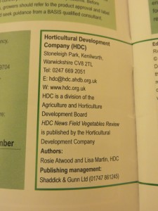 Look! There! My name in print! In a real magazine!